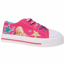 Zapatillas Barbie Con Luces Originales Addnice Mundo Manias