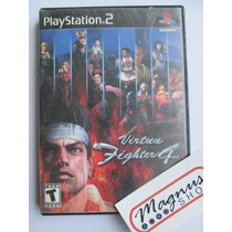 Virtua Fighter 4 Para Playstation 2 Ps2 Gran Juego De Peleas
