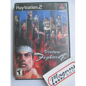 Virtua Fighter 4 Para Playstation 2 Ps2 Gran Juego De Peleas