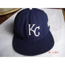 Kansas City Royals Gorra Original De Serie Mundial 2014
