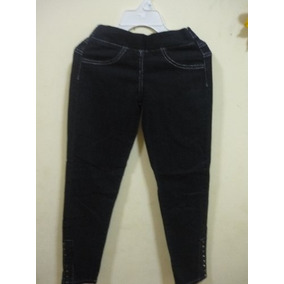 Leggins Tipo Jeans Para Chicas Solo Talla 10