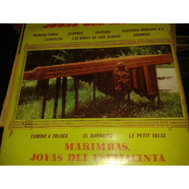 Disco Acetato De Marimbas Joyas Del Usumacinta