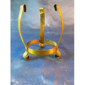 El Arcon Antiguo Soporte De Metal Para Florero Cristal 33072