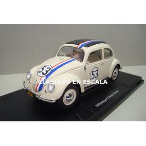 Herbie Volkswagen #53 - The Love Bug - Artesanal Welly 1/18