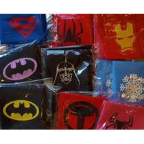 Capas Superheroes Pack Por 10