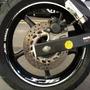 Friso + Adesivo Interno Roda Refletivo Moto Yamaha Xj6 M01