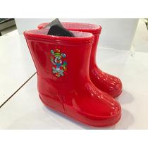 Botas Botines Para Niñas-niños Pvc Para La Lluvia. Descuento