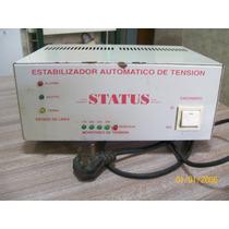 Estabilizador Automático De Tensión, Marca Status 800 Wats.