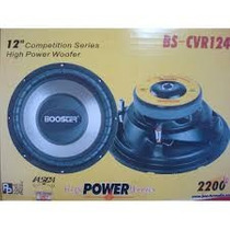 Booster Subwoofer Sub Bs-cvr124 12 2200w