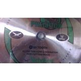 Disco Circular 254mm 40 Dientes P/ Corte De Madera Nicholson