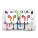 Audifonos Tipo Earpods Manos Libres Iphone Colores!
