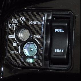 Adesivo Protetor Tuning Relevo 3d Ignição Moto Honda Pcx 150