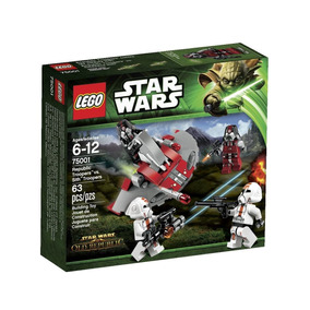 Lego Star Wars 75001 Republic Troopers Vs Soldados Sith 63 P