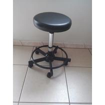 Mocho Cadeira Preto Para Estética Dentista