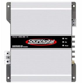 Módulo Amplificador Soundigital Sd-2500 Evo 2500w Rms