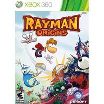 Jogo Lacrado Mídia Física Rayman Origins Para Xbox 360