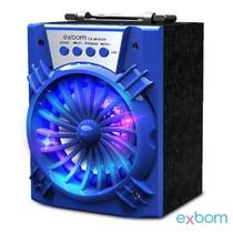 Caixa De Som 2.0 Bluetooth 8 Watts Mic /sd/usb/fm Cs-m121bt