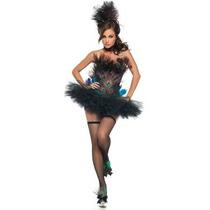 Disfraz De Pavo Real Para Damas, Burlesque, Cabaret, Peacock