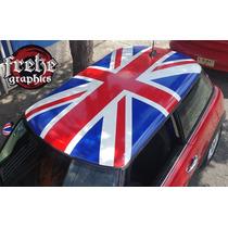 Stickers Mini Cooper Bandera Toldo Estampas Calcomanias