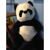 Oso Panda Gigante 1,20 Mts Gran Regalo Día De Los Enamorados