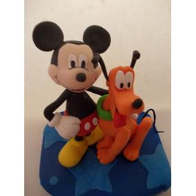 Mickey Mouse En Porcelana Fria Para Tu Torta