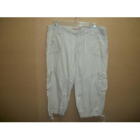 Pantalon Capri Casual Hueso Tipo Cargo Union Bay Dama 5-30