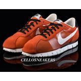 Tenis Nike Cortez 38 Laranja Flymotion Lowrider Chicano
