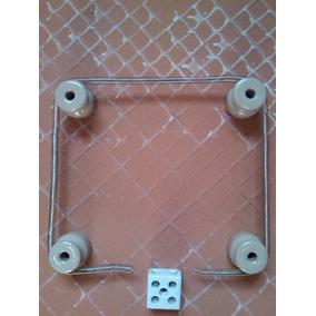 Kit Resistencia Chocadeira 220v + 4 Isoladores + 1 Sindal.