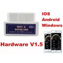 Mini Scanner Para Carros Obd2 Wifi V1.5p/ Ios E Android