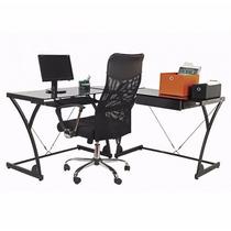 Mesa + Cadeira Escritório Escrivaninha Computador Trabalho