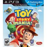 Jogo Toy Story Mania Ps3 Mídia Física Lacrado Com Nota Fisca