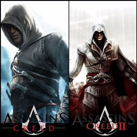 Ps3 Assassins Creed 1 + 2 A Pronta Entrega