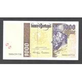 Por007 Billete De Portugal De 1,000 Escudos 1998 Unc Aff*