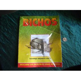 Coleccion Bichos 2014. Lote X 10 - Insectos Diferentes.nuevo