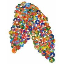 Caminho De Mesa Fuxicos Chita Crochê Luxo 1,60m Frete Grátis