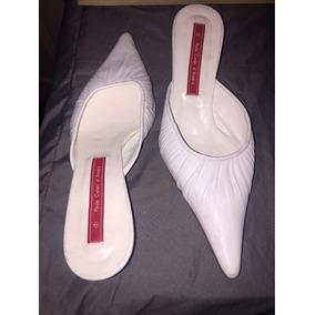 Zapatos Mujer, Suecos Blancos. Paula Cahen D