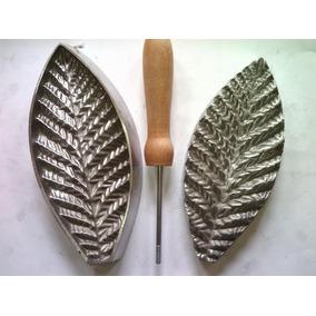 Frisador De Flor Em Alumínio - Lírio Pipoca