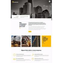 Site Wp Resposivo Para Construção Civil & Engelharia Civil