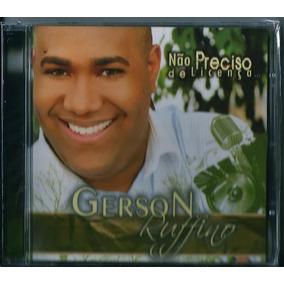 Cd Gerson Rufino - Não Preciso De Licença (bônus Pb)
