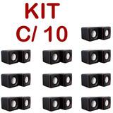 Kit 10 Caixa Caixinha Som Portátil 5w Rms Usb P2 Pc Notebook