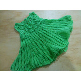Vestido Para Niña Tejido Crochet
