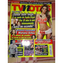 Revista Tv Notas Portada P Origel Poster Mariana Seoane