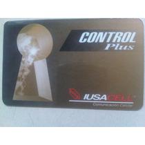 Control Plus Iusacell Tarjeta Telefónica Mexicana De Prepago