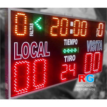 Marcador Deportivo Electrónico Básquetbol Tablero Score Time
