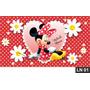 Minnie Red Vermelha Painel 1,50x1,00m Lona Festa Aniversário