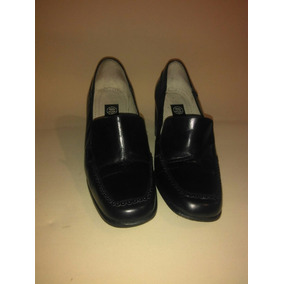 Zapatos Bajos De Piel Suela Cuero Excelentes