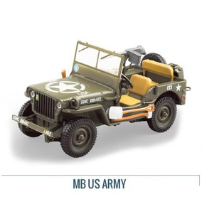 Colección Jeep Willys Mb Us Army 1942 1/43 Ixo