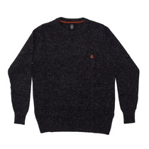 Sweater Volcom Hombre - Solid Buttoné Crew Sweater