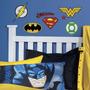 Nuevo Dc Comics Superhéroe Logos Etiquetas Batman Superman