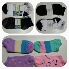 Medias Soquetes Pack X 4 Doc. Niño/a, Mujer, Hombres